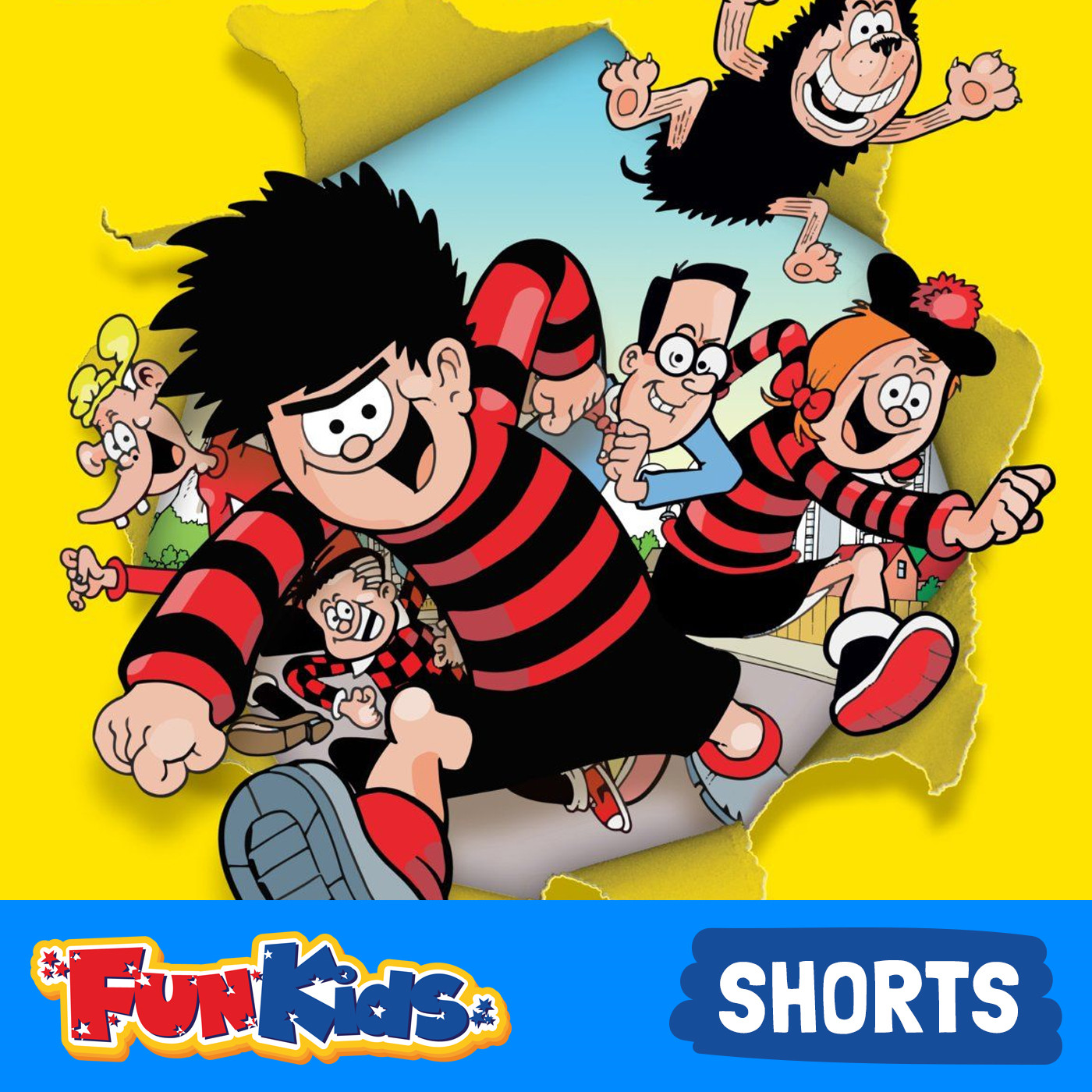 <![CDATA[Beanotown (Dennis the Menace and Gnasher) on Fun Kids]]>