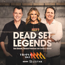 The Dead Set Legends Catch Up - Triple M Sydney and Brisbane - Ray Warren, Peter Sterling, Andrew Johns, Dan Ginnane, Tony Squires