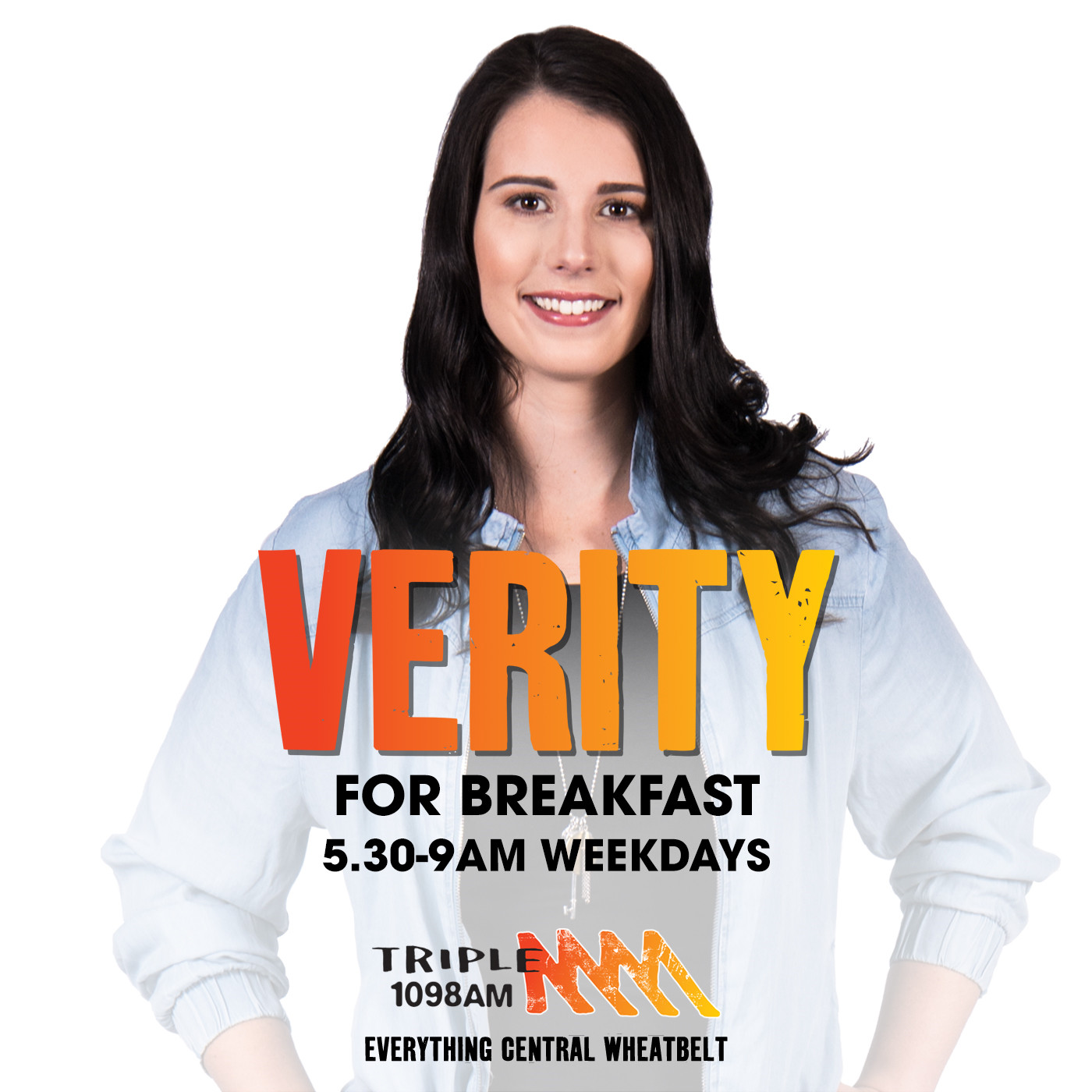 Verity for Breakfast Catchup - Triple M Central Wheatbelt 1098