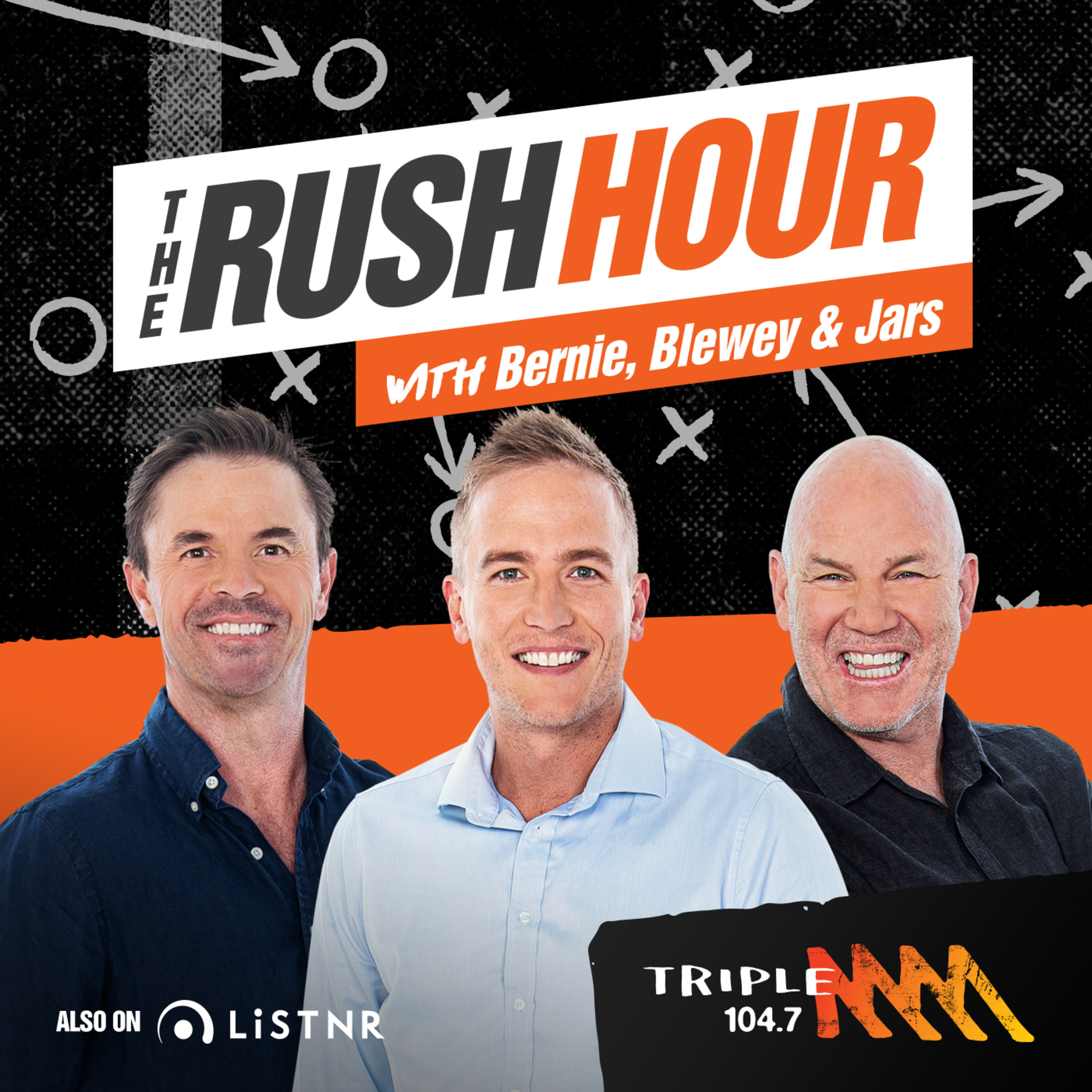 The Rush Hour with Jars & Louie Catch Up - 104.7 Triple M Adelaide - Andrew Jarman and Dale Lewis