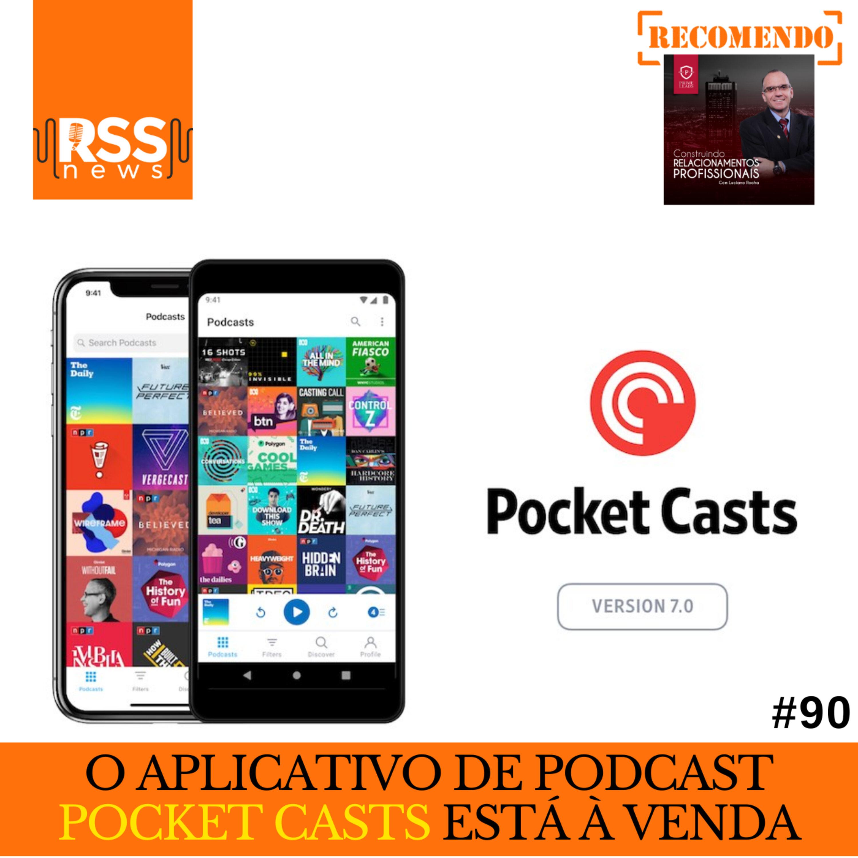 O aplicativo de podcast Pocket Casts está à venda