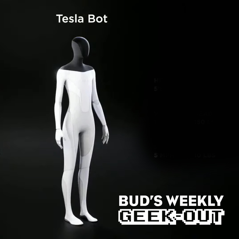 Bud's Weekly Geek-out! 20210825 - Tesla Bot