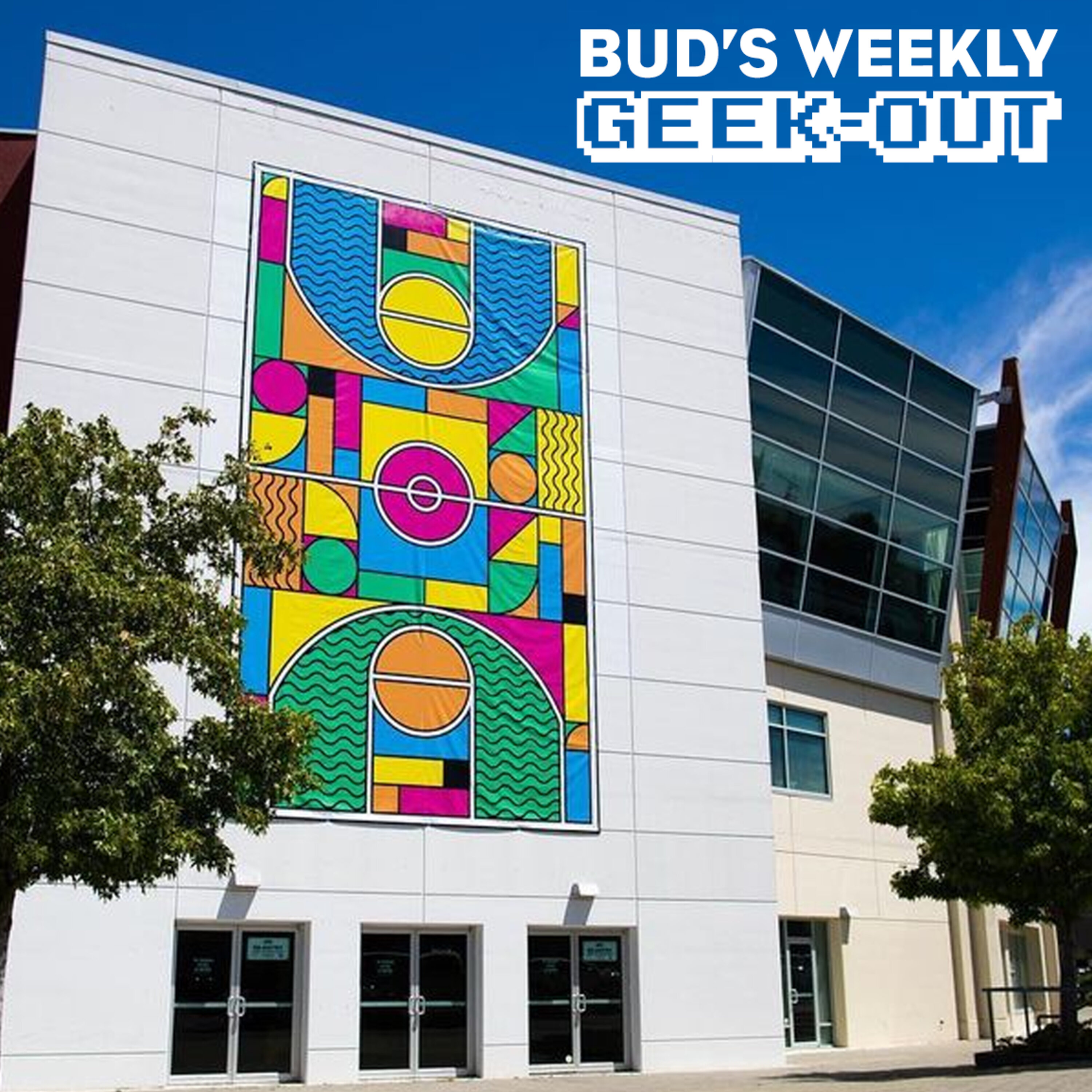 Bud's Weekly Geek-out! 20210714 - Outside the Lines AR mural