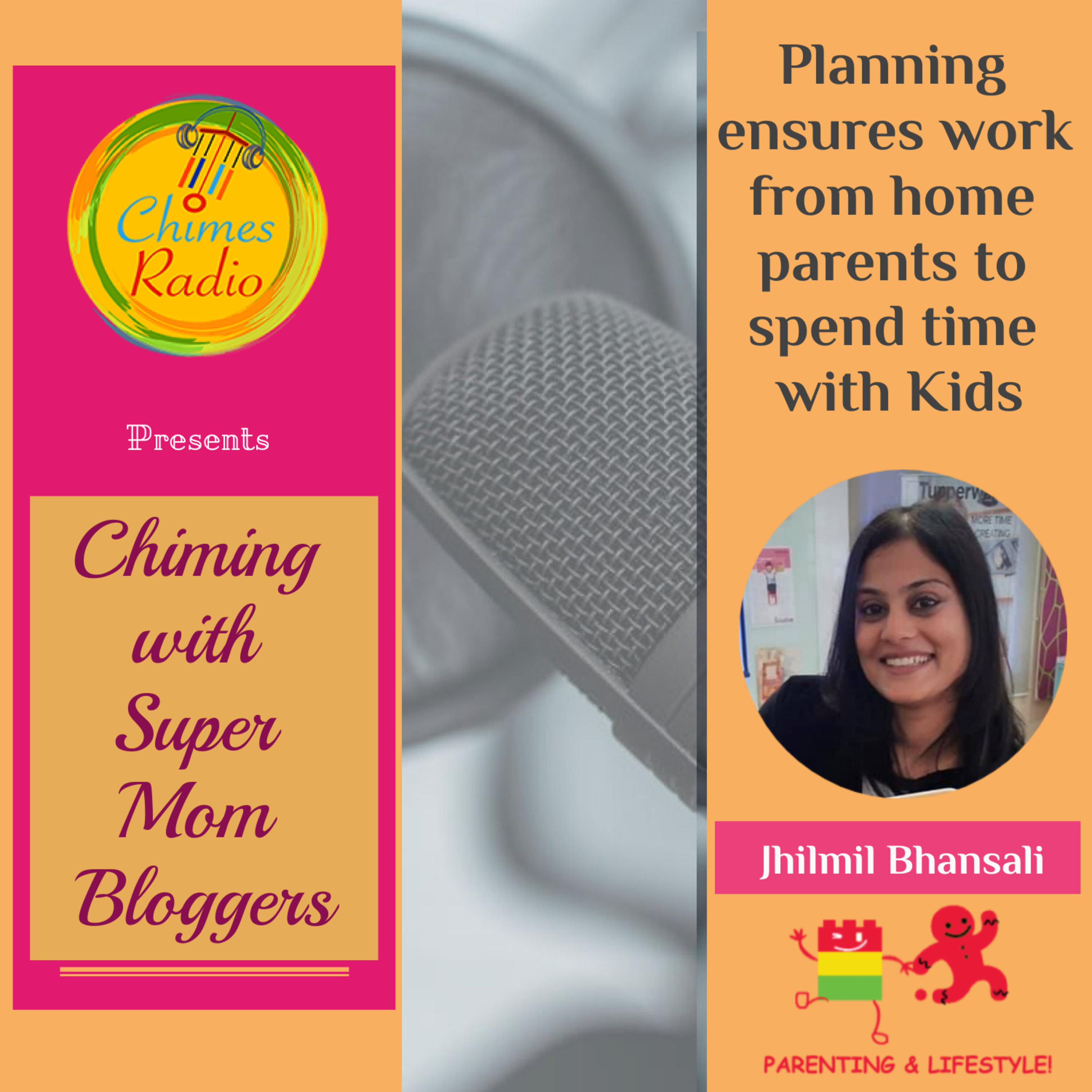 Super Mom Bloggers - Planning ensures WFH parents can spend time with kids