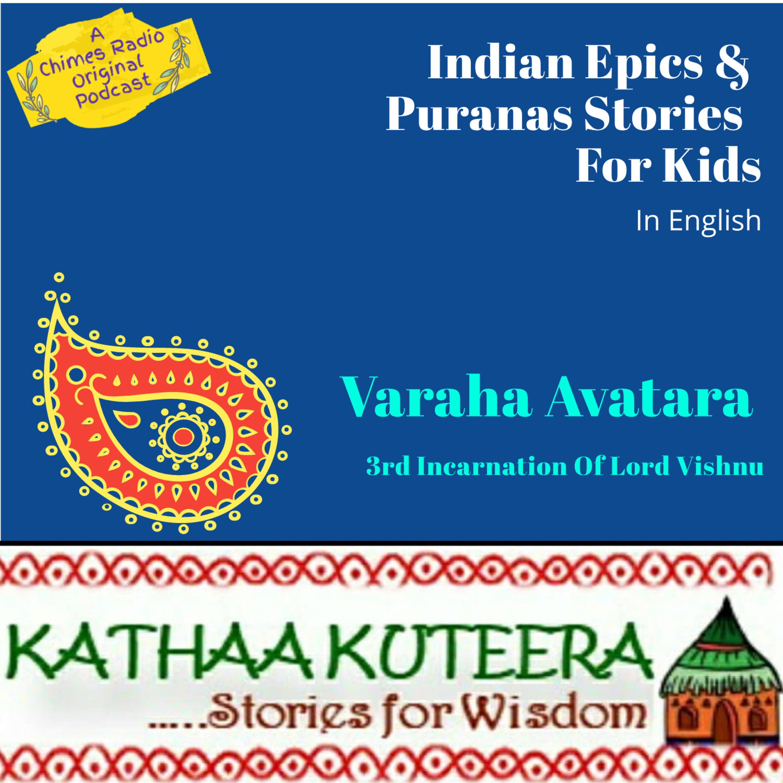 Varaha Avatara - 3rd Incarnation of Lord Vishnu