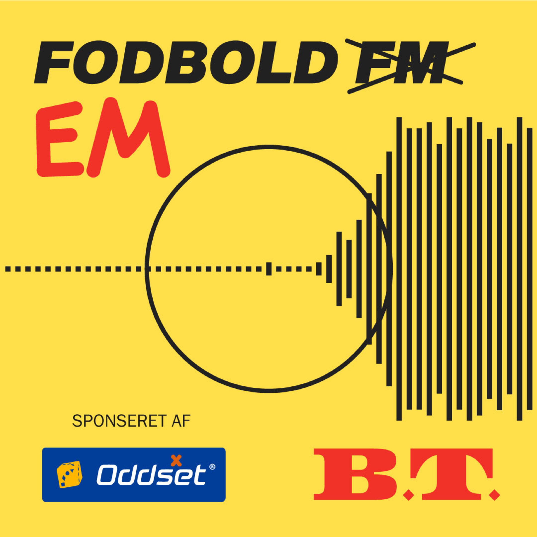 Fodbold EM - med Cecilie Schmeichel og Michel Wikkelsø Davidsen