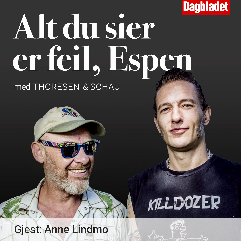 Episode 20. Gjest: Anne Lindmo
