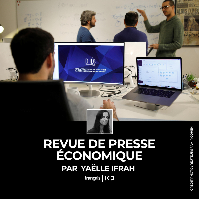 La revue de presse économique hebdomadaire de Yaëlle Ifrah