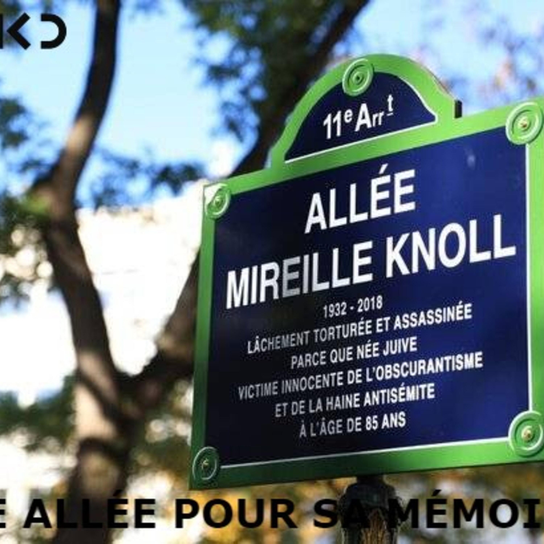 Mireille Knoll: une allee pour sa memoire.