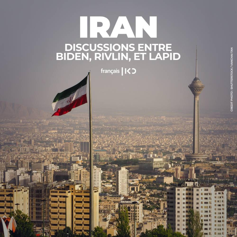 L'Iran, au coeur des discussions entre Biden Rivlin et Lapid