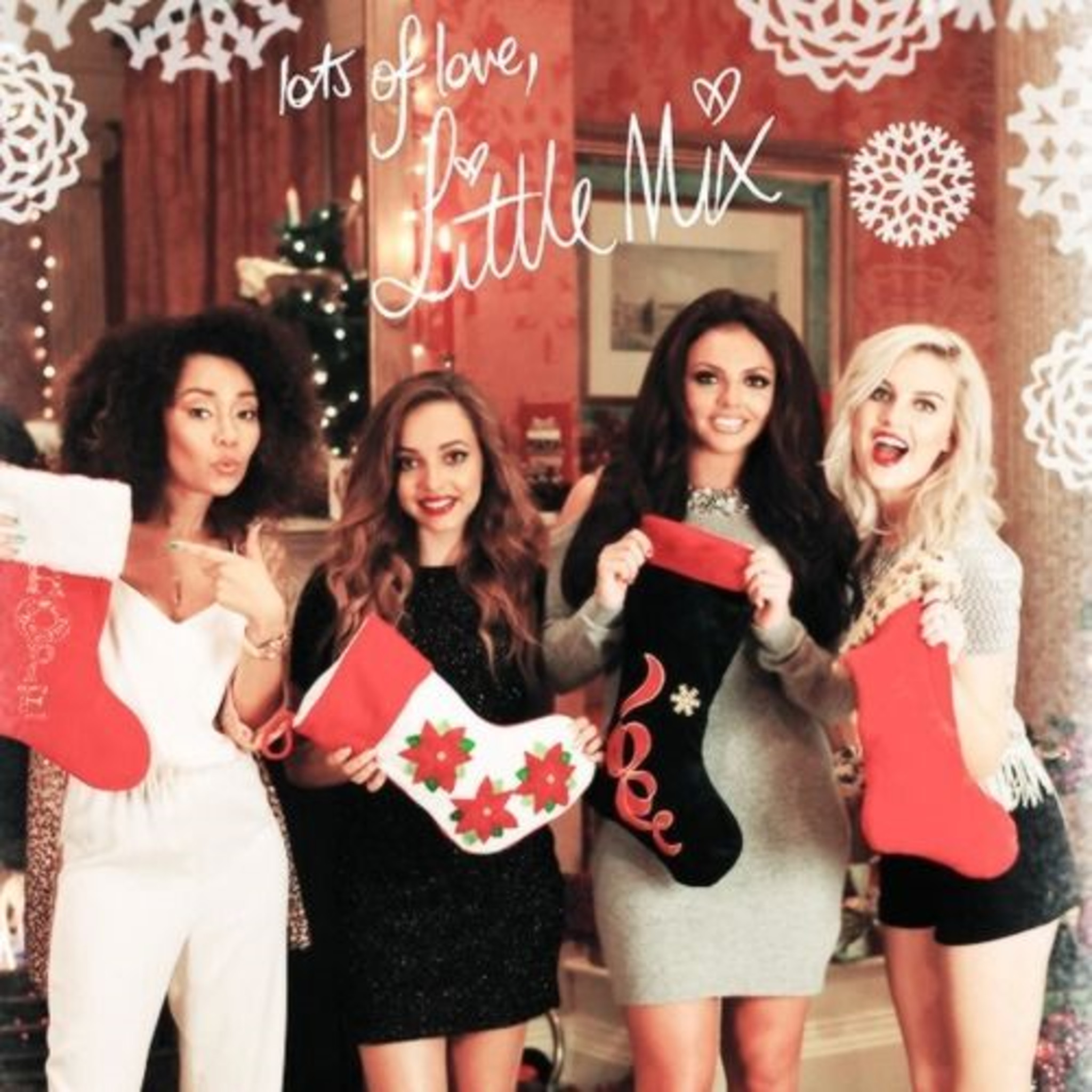Little Mix and Santa