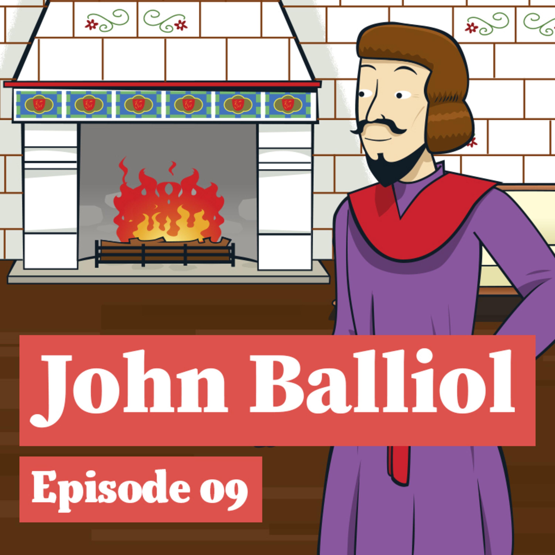 John Balliol and his staff
