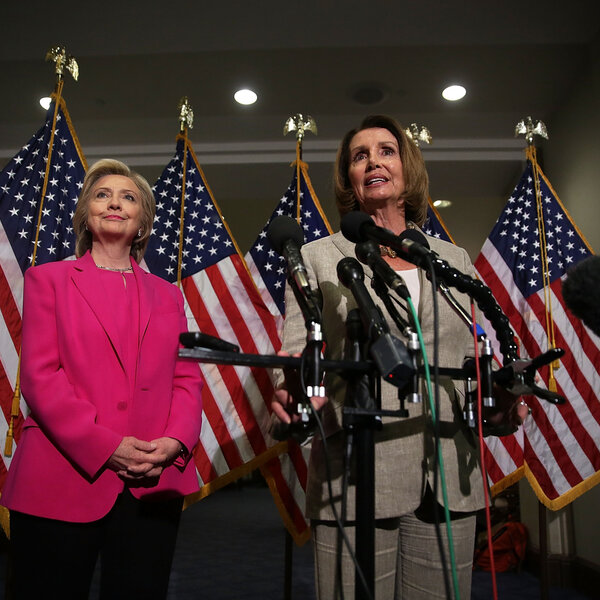 Obsession Never Stops: Speaker Pelosi and Hillary Clinton Podcast on Russia Collusion  (Non-Stop Talk 01-19-21)