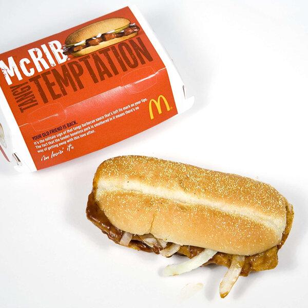 McRib Sandwich - Fresh Midwest & Worker Burnout