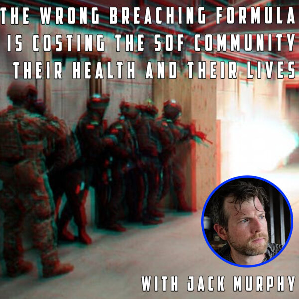 The DoD using WRONG explosive formulas for breaching, TBI' and suicide could be the result.