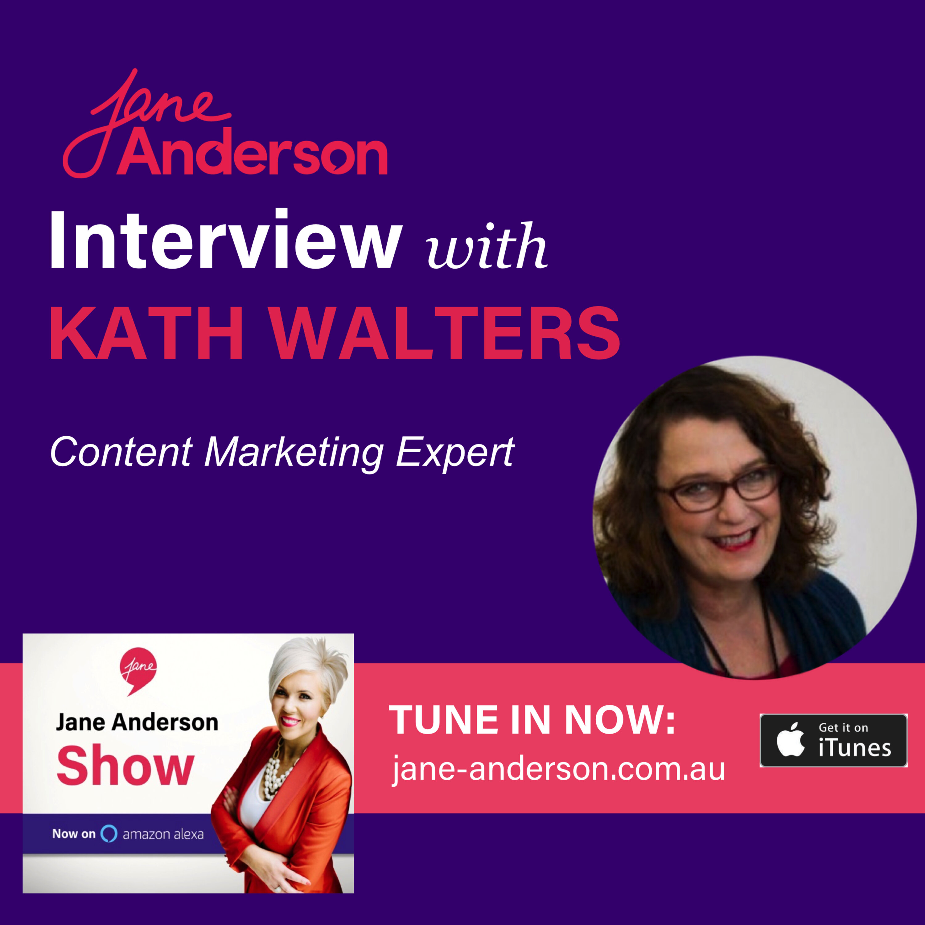 Episode 24 - Sticky Content with Kath Walters