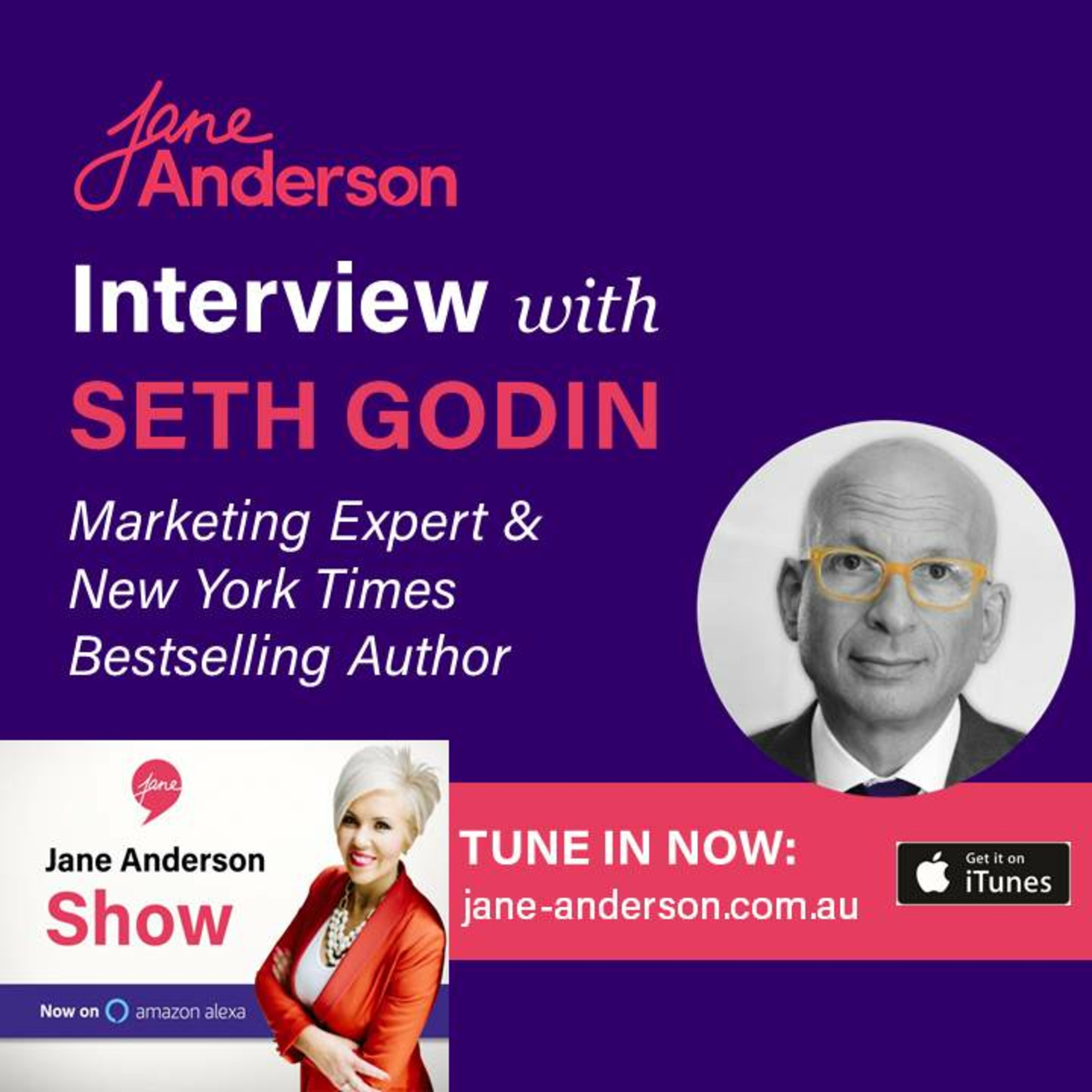 Episode 36 - Interview with Marketing Expert & NY Times Bestselling Author Seth Godin