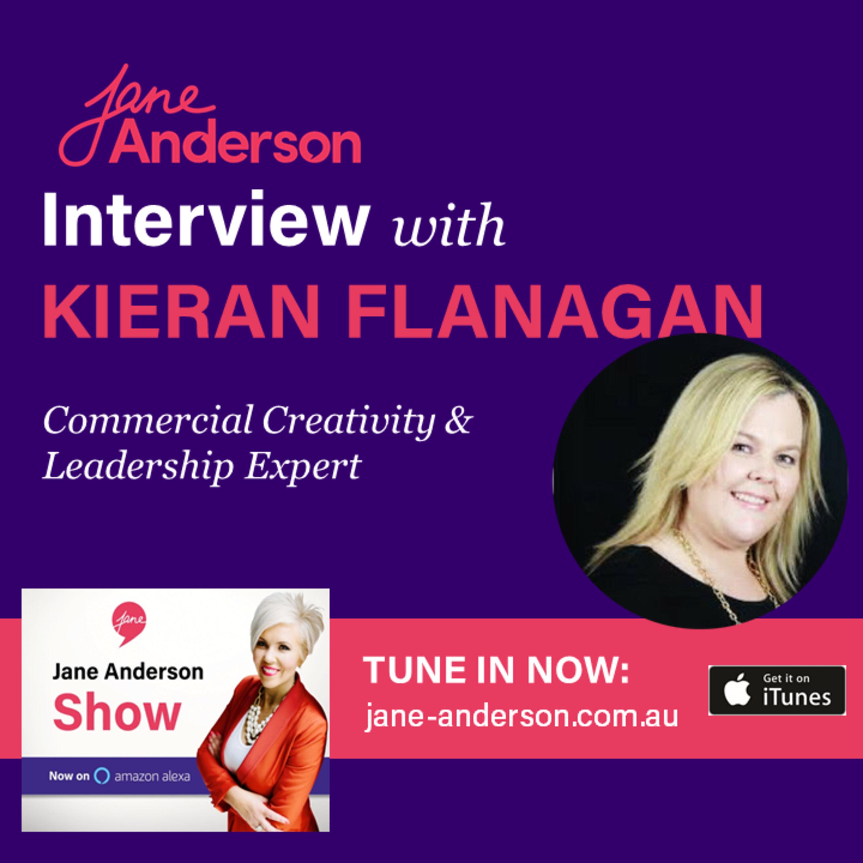 Episode 39 - Interview with Commercial Creativity & Leadership Expert Kieran Flanagan