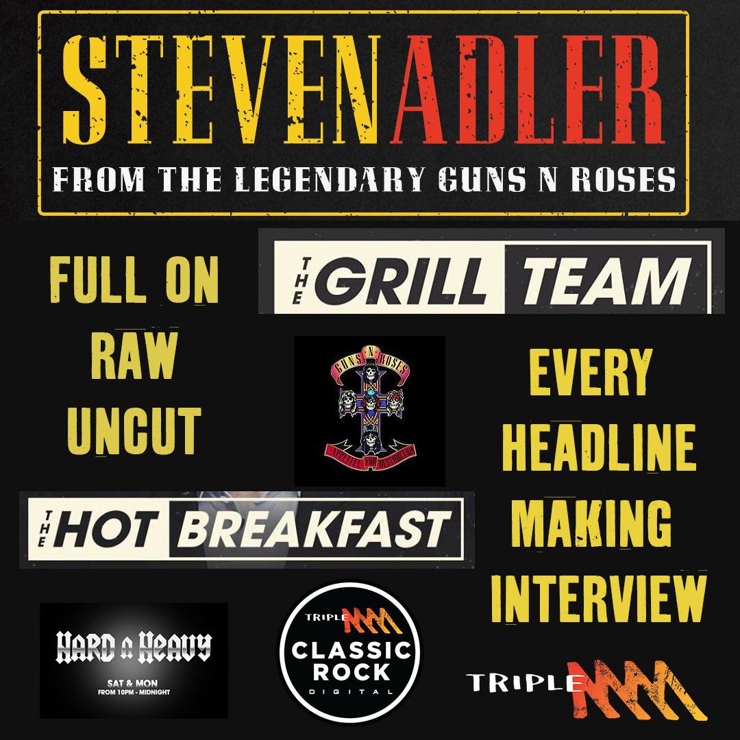 Steve Adler: Full On, Raw and Uncut