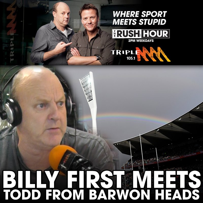 The First Time Todd From Barwon Heads Called Billy