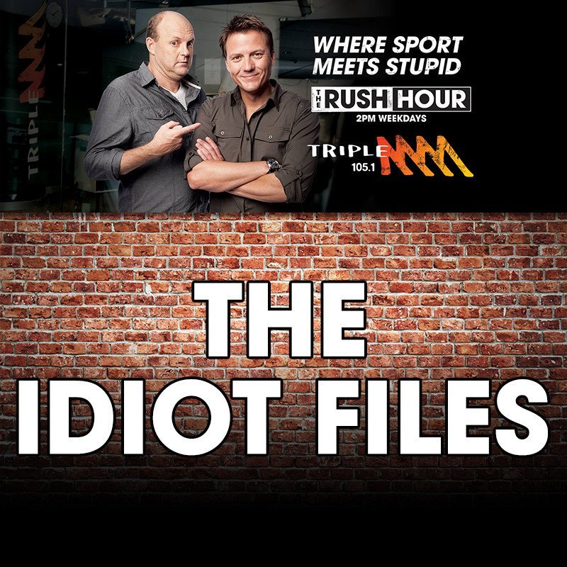 Billy's September Idiot File