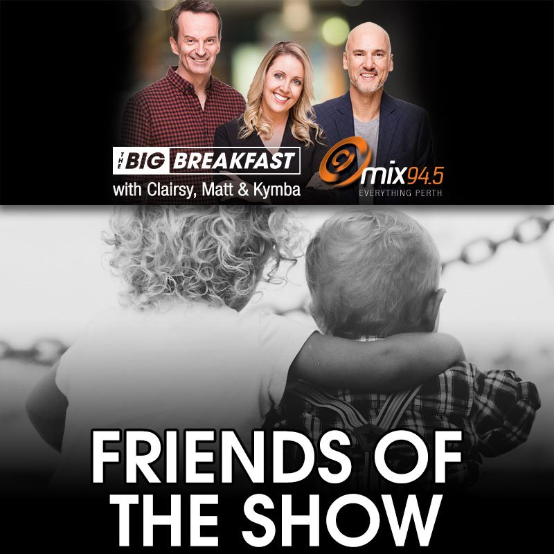 Friends of the Show - Dennis Cometti, Lawrence Mooney, Adrian Barich, Bill Bailey, Andrew Gaff, Mum is the Word, Vance Joy