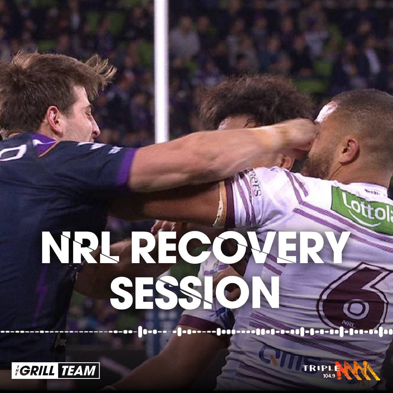 """""""He talked shit to the kid and told him to hit him… and he did"""" - The NRL Recovery Session"""