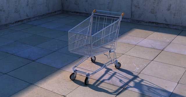 Are you leaving goods in your online trolley and walking away?