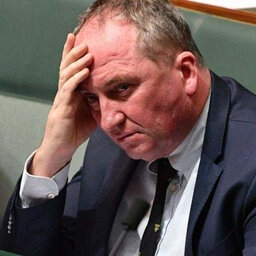 Barnaby's latest stunt is tantamount to an admission that his time is up.
