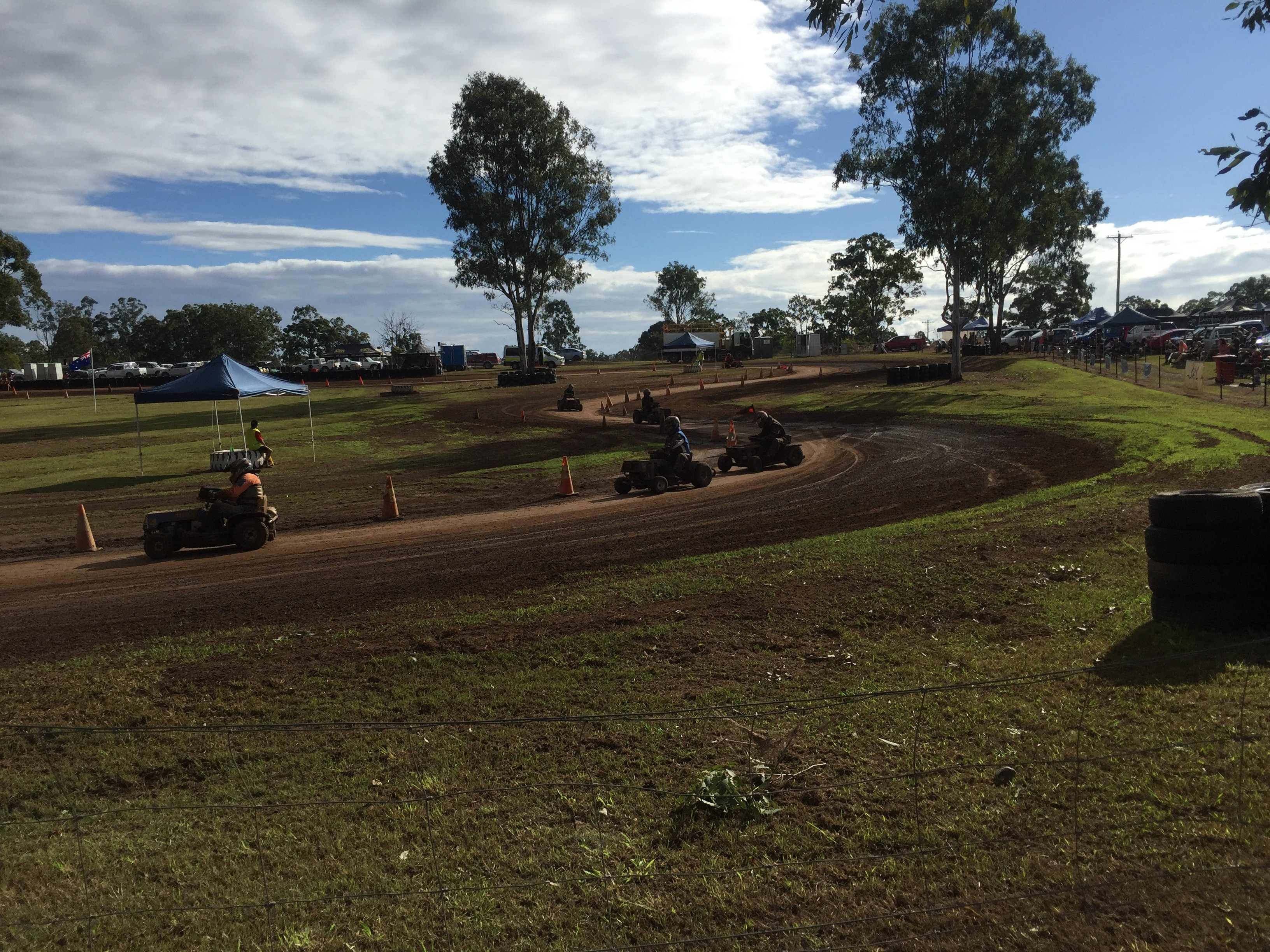 Ride-On Mower Racing Wrap Up