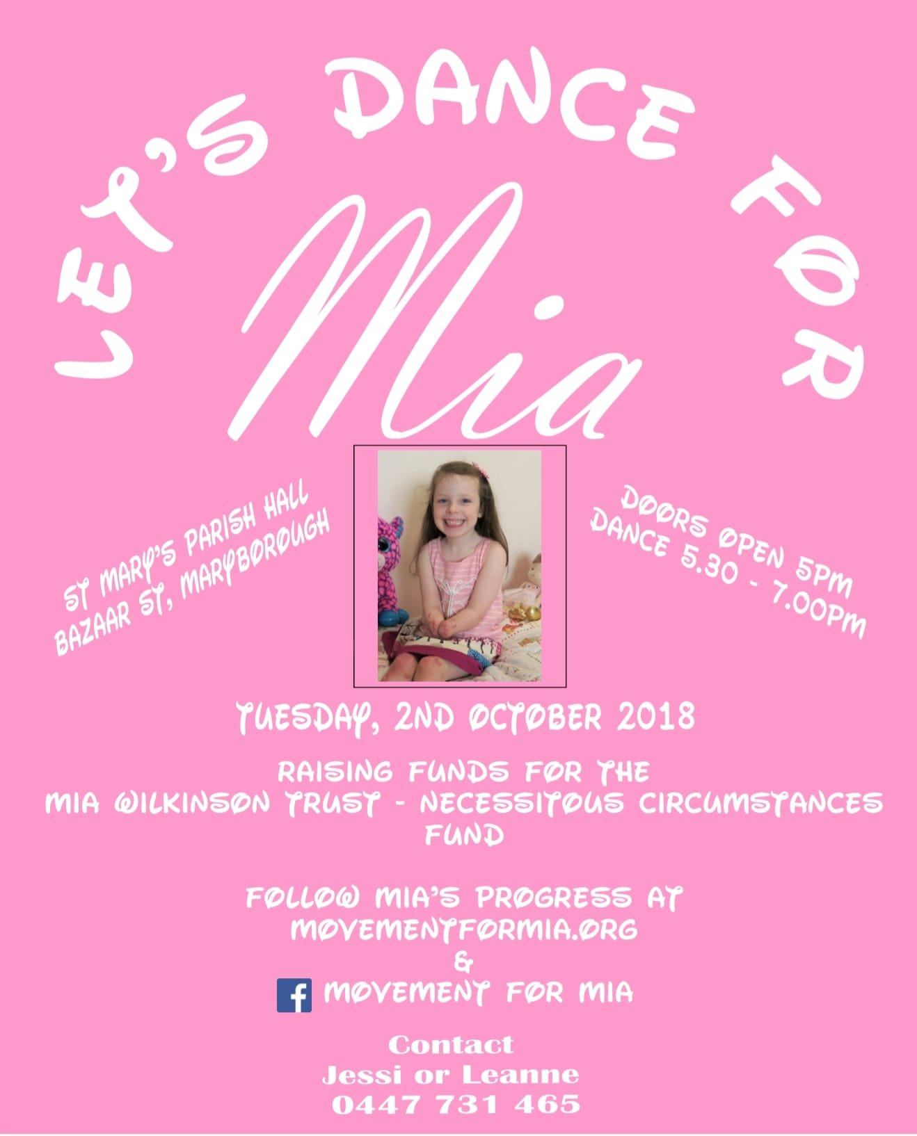Let's Dance For Mia