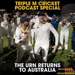 Warnie, Haydos, Merv, Rodney Hogg, Cam White & Mick Molloy React To Australia Winning The Ashes - Triple M Cricket Fan Podcast Special