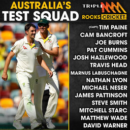 Test squad dissection, The Gherkin, Redbacks drought & Super Overs!