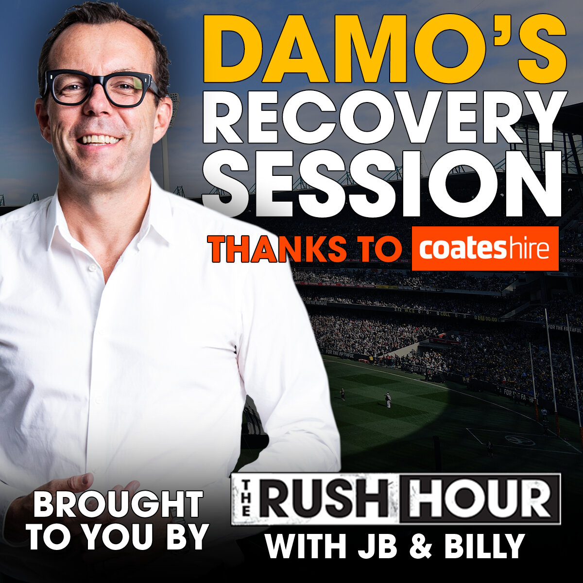 Rampe's night, Ablett's elbow, Fantasia's surname - Damo's Recovery Session - 13th May 2019