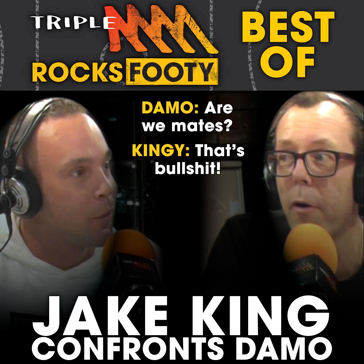 Jake King Confronts Damo On The Friday Huddle