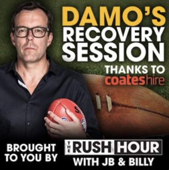 Damo's Recovery Session - The Pies turnaround, Simon Goodwin's trackies, Chompers blowing up and trade news