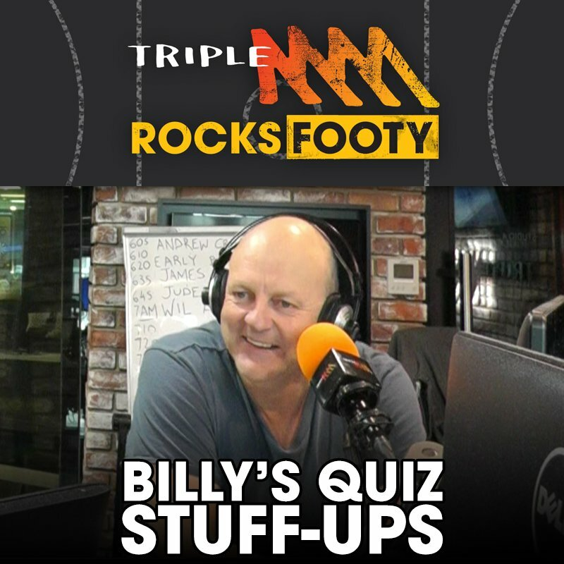 Every Time Billy Stuffed Up The Saturday Rub Quiz In 2018