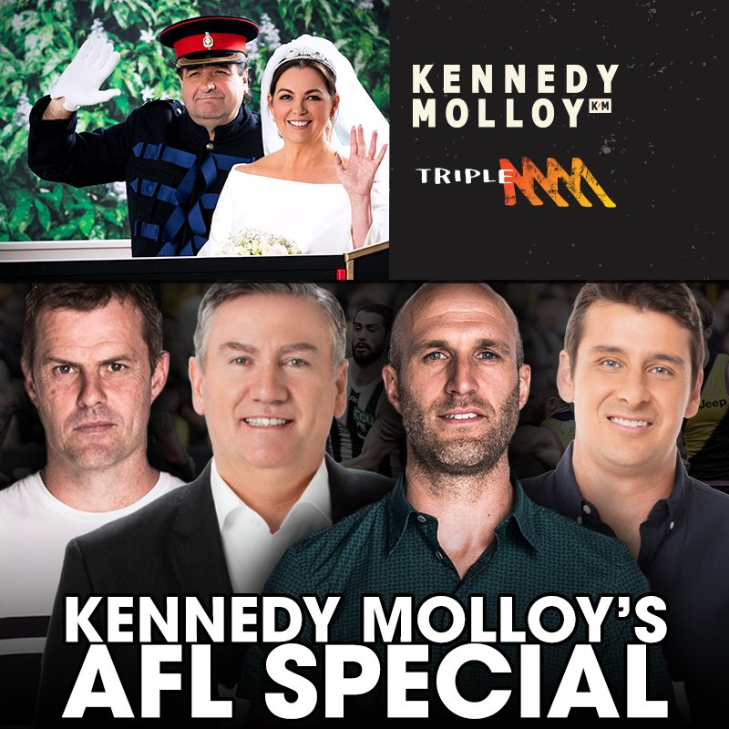 Kennedy Molloy's AFL Podcast Special: Chris Judd, Eddie McGuire, Luke Darcy & Andrew Embley