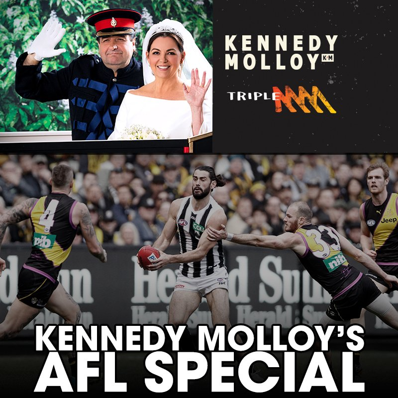 Kennedy Molloy rocks the AFL Prelim Finals! A special show all about the Tigers vs Pies and Dees vs Eagles Prelim Finals.