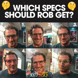 Rob Finally Embraces Needing Glasses!