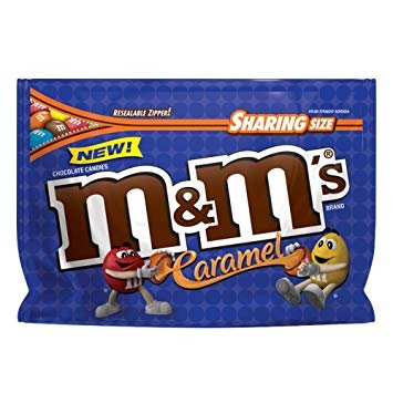Something STRANGE happened when we asked for GHOST ADVICE this morning - CARAMEL M&M'S ARE HERE!!! -