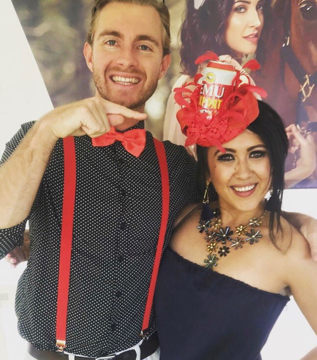 XAVIER ELLIS plays 'Would You Rather' and sings 'Crapapella to Horses' - Juelz's Stakes Day fascinator is revealed