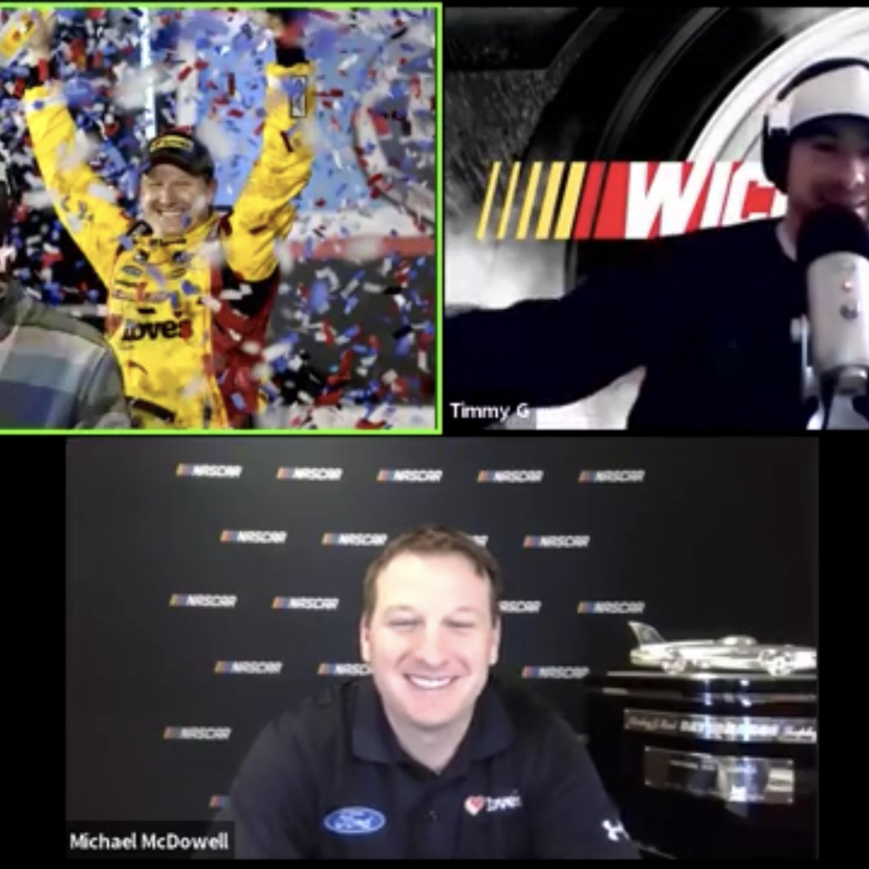 Still In Daytona! #Daytona500Champion Michael McDowell Special Guest! #NASCAR