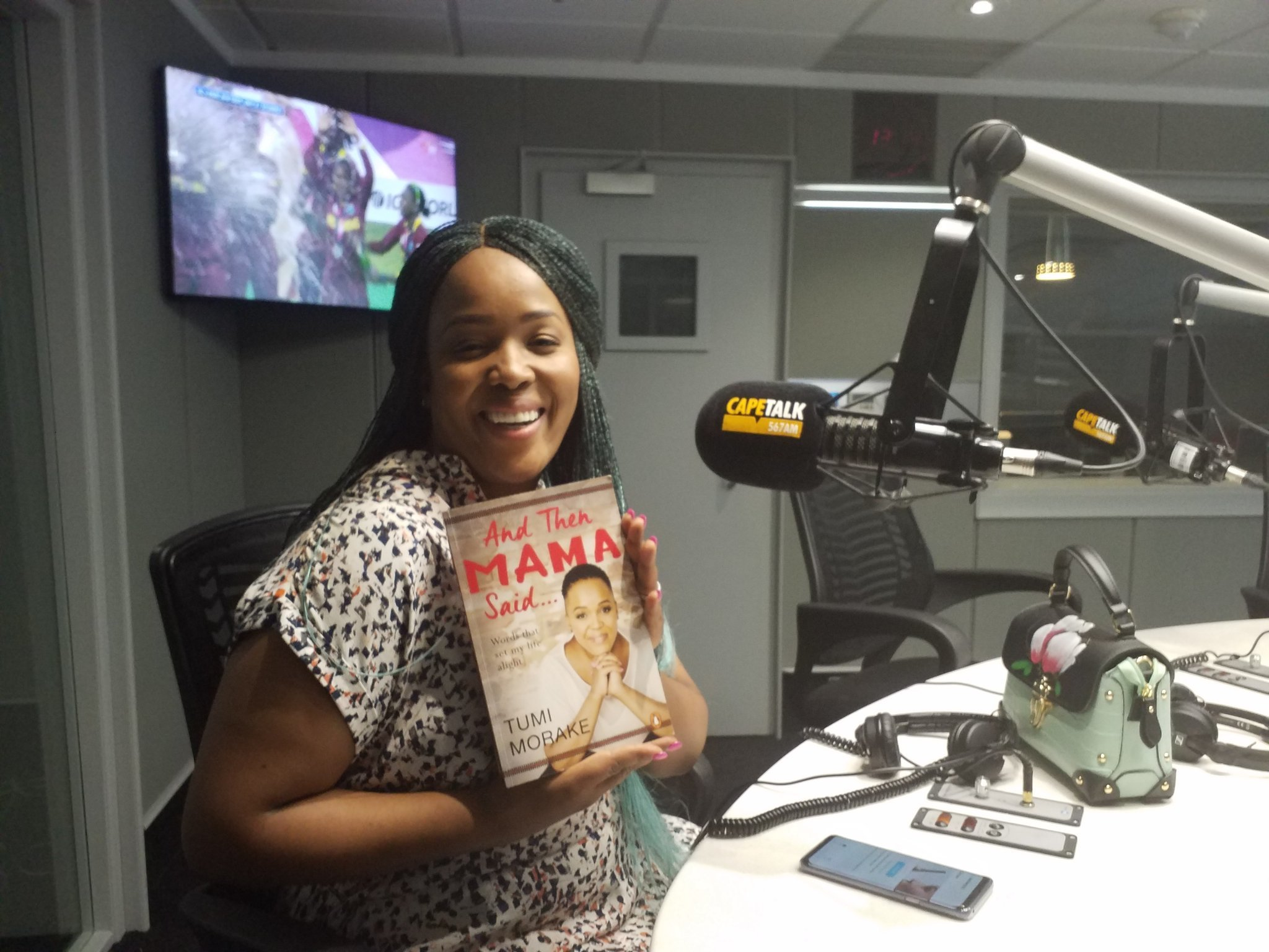 First lady of comedy Tumi Morake on her book, career, life & much more