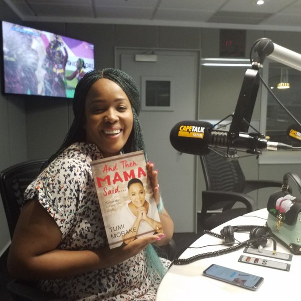First lady of comedy Tumi Morake on her book, career, life