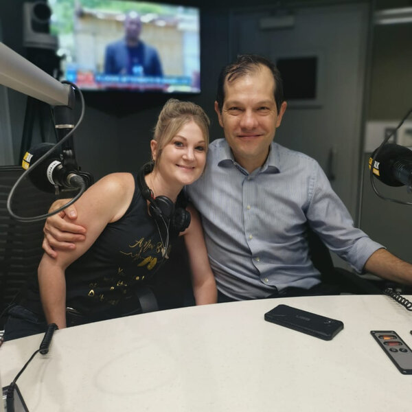 On the couch with Tanya Bothma and Dr Greg Calligaro