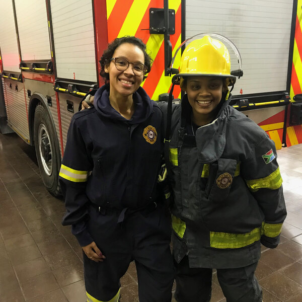 EWN reporter on a day in the life of a firefighter