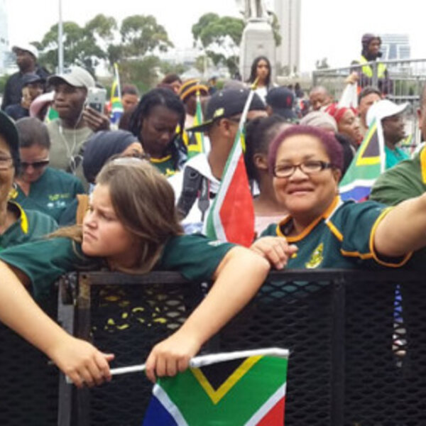 Cape Town Rugby World Cup Trophy Tour coverage