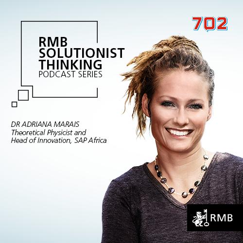 RMB Solutionist Thinking - Dr Adriana Marais