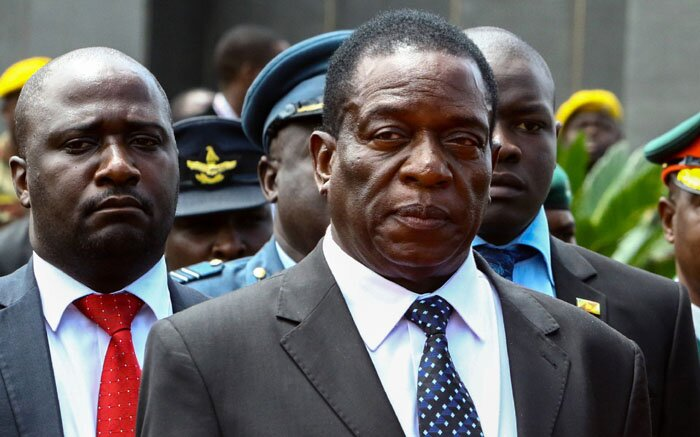 Emmerson Mnangagwa 'eats cake' in Russia while Zimbabwe burns